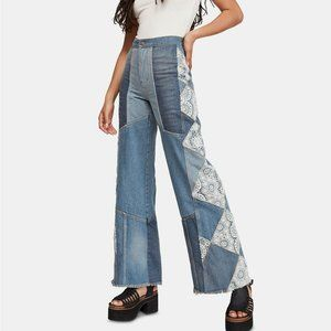 free people in my element patch jean 27 j441